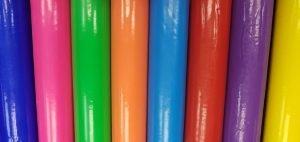 colores disponibles: verde, amarillo, magenta, azul, azul claro naranja, verde, roja y púrpura